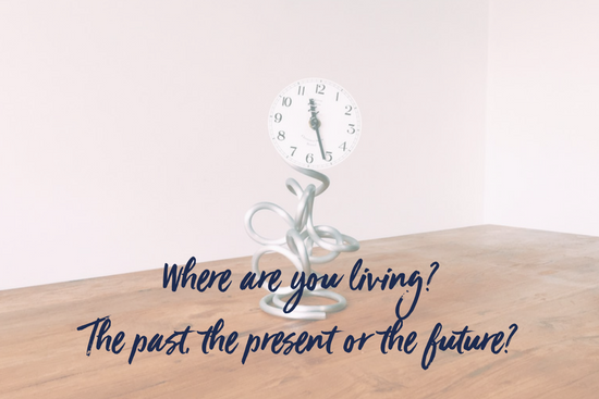 Where are you living? The past, the present or the future?