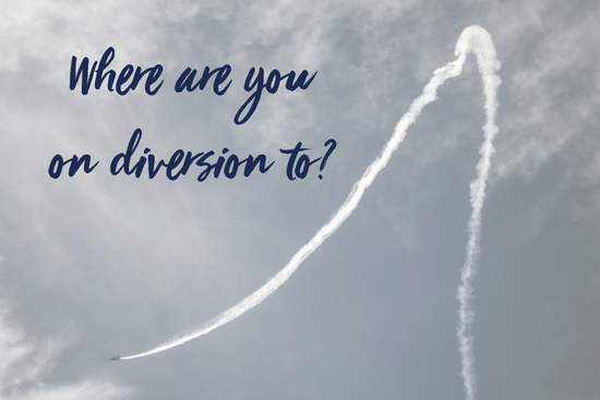 Where are you on diversion to?